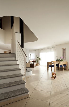 openspace: openspace modern interior, stairs Stock Photo