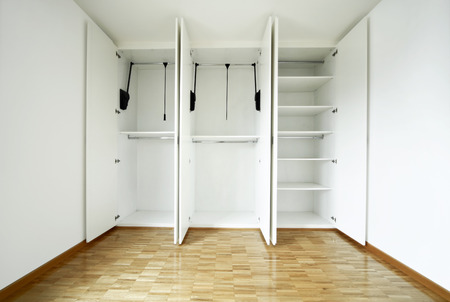House interior, empty wardrobe