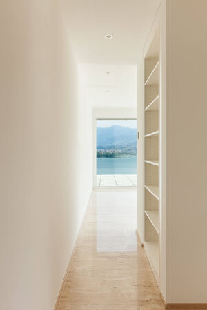 penthouse: Interior, modern penthouse, view from the passage