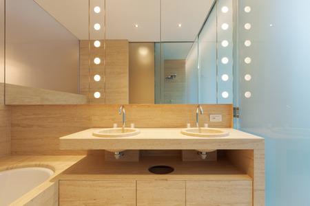 Interior modern bathroom photo