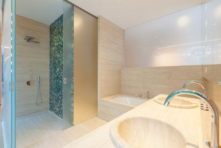 decore: Interior modern bathroom