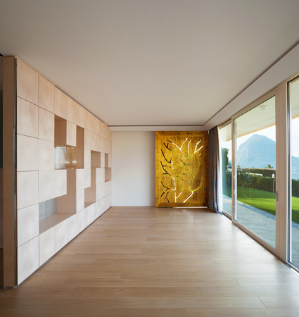 decore: Interior modern empty room