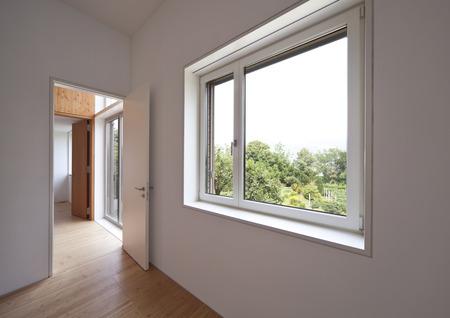 Passage of modern house Standard-Bild