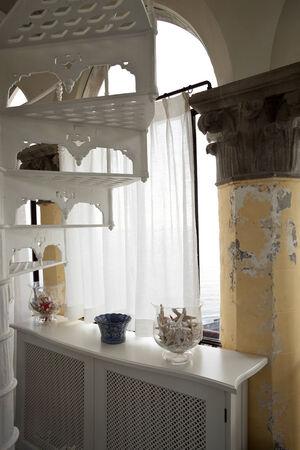 courtain: vintage interior detail