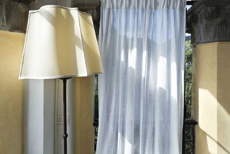 courtain: interior detail