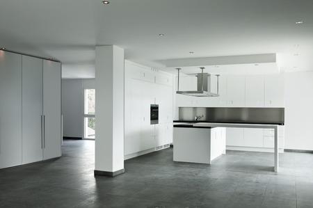 new apartment, kitchen view photo