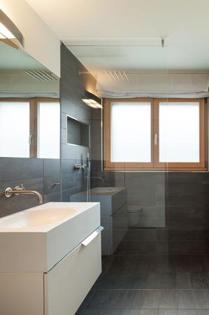 comfortable: Architecture, comfortable apartment, bathroom view