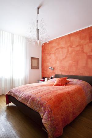 courtain: elegant interior apartment