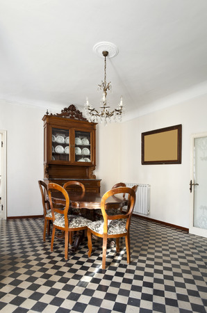 vintage interior apartment photo