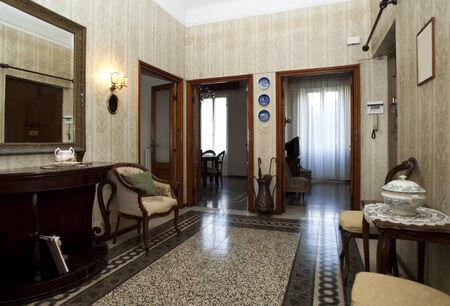furnished: furnished interior passage Stock Photo