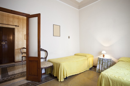 double beds: double beds, bedroom interior