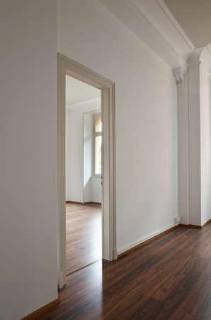 apt: empty apartment interior