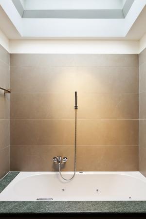 bathroom interior: beautiful apartment, interior, bathroom