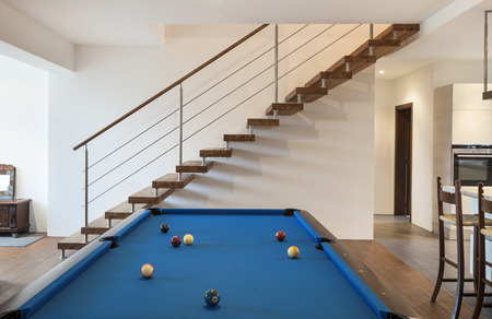 billiards room: nice modern loft, room with billiards