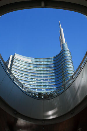 rise to the top: Outdoor architecture in Milano Italy