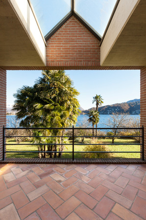 Garten Terrasse Lizenzfreie Vektorgrafiken Kaufen: 123rf Moderne Gartenterrasse Wohnung Dachterrasse
