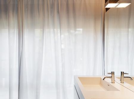 comfortable: Architecture, modern apartment, comfortable bathroom