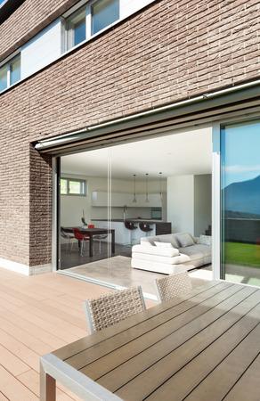 veranda: Architecture, modern house, outdoor, view from veranda