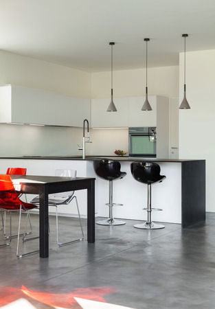 Architecture Modern Design, Interior, Domestic Kitchen Photo