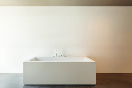 House modern design, interior, detail bathroom