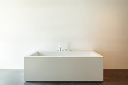 bathroom wall: House modern design, interior, detail bathroom