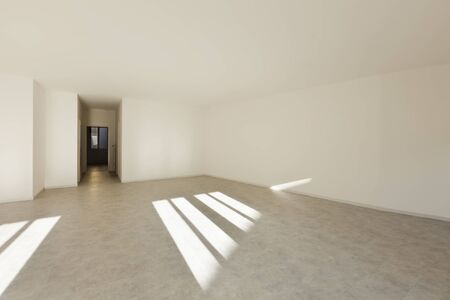 new entry: Empty apartment, white walls
