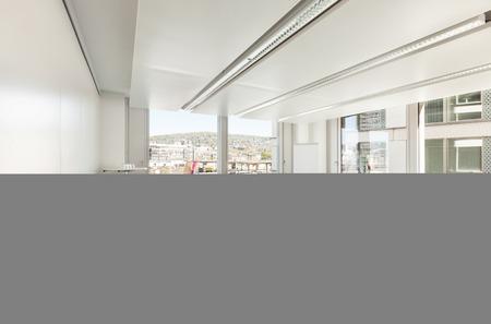 reunion de trabajo: Edificio, interior, sala de reuniones vacía
