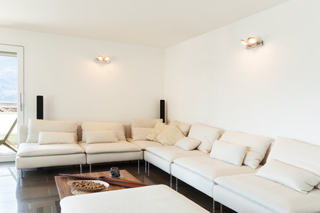 apartment living: Architecture, beautiful apartment furnished, comfortable living room