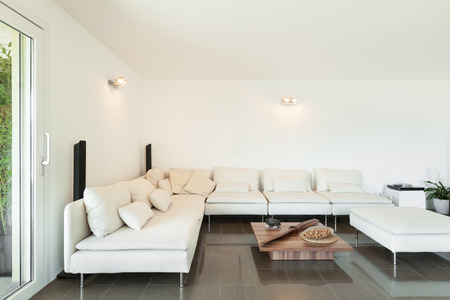 furnished: Architecture, beautiful apartment furnished, comfortable living room