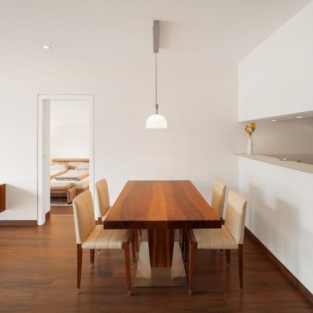 architecture: Interior architecture, modern living room Stock Photo