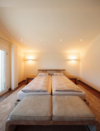 kingsize: Interior architecture, bedroom, nobody inside