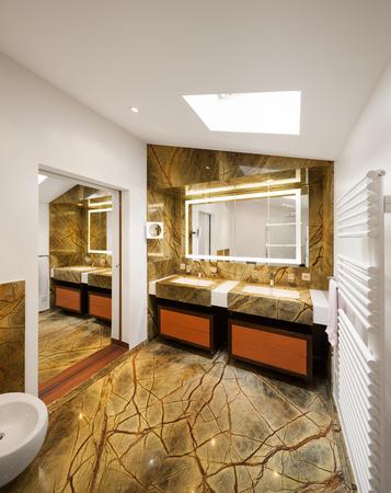 canicas: Diseño de interiores, cuarto de baño con mármol