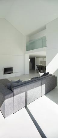 divan: arquitectura, interior moderno sal�n, vista posterior div�n
