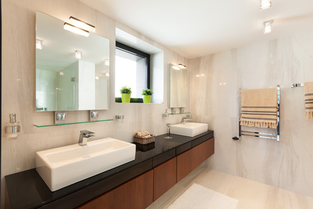 bathroom design: modern house beautiful interiors, bathroom