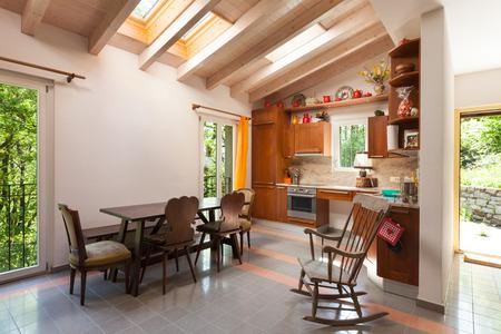 カントリー ・ ハウス、国内キッチンのインテリア