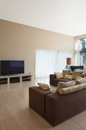 divan: Innenraum eines modernen Wohnzimmer, komfortable Schlaf