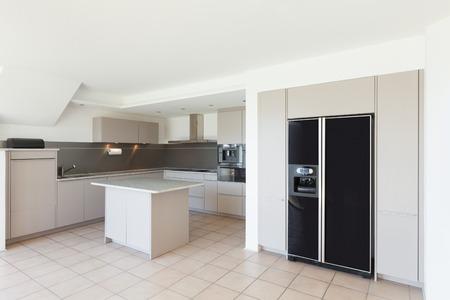 Architecture, domestic kitchen of a modern house 版權商用圖片