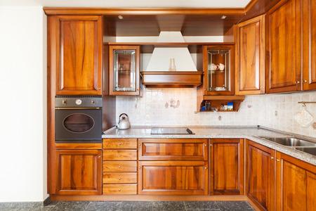 Appartement Classique Meublé, Cuisine Domestique Banque D\'Images Et ...