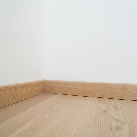 wood room: Interior, parquet floor of a modern house, copy space