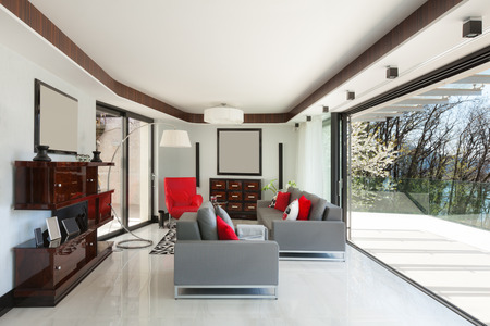 living room design: modern house beautiful living room, design furniture