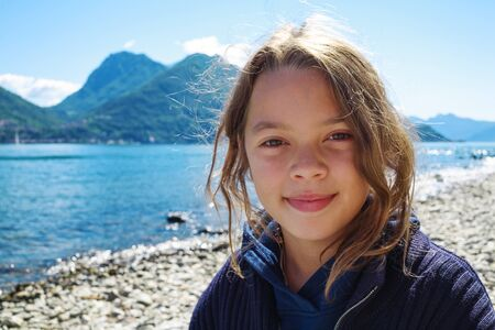 lake como: Children on holiday to Lake Como in Italy