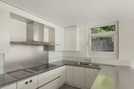 stove top: modern house, stove top of a domestic kitchen