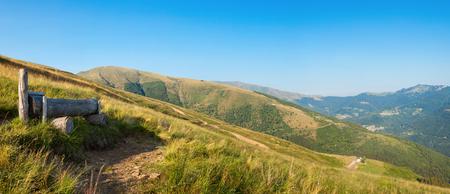 baro: Swiss mountain landscape, vast pasture for crude