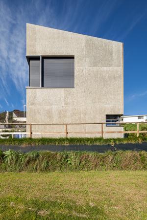 case moderne: Casa moderna, minimalista concreto piazza