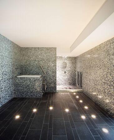 Interior Of A Modern House, Turkish Steam Bath Stock Photo