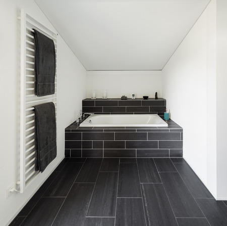 bathroom tile: Architecture, new trend design, bathroom of modern house