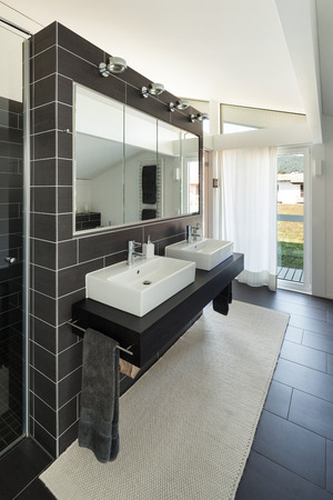 carpet clean: Architecture, new trend design, bathroom of modern house