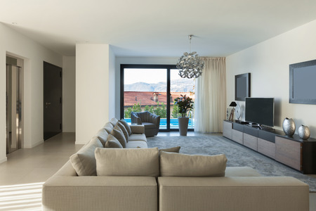 apartment: Interior of a modern apartment, comfortable living room
