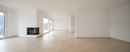 wide open spaces: Interior of modern apartment