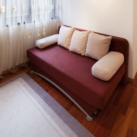 divan: guest room of a modern apartment, divan bed